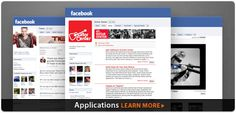 Involver is a great way to help you spruce up your facebook page with some custom apps.  Check it out.