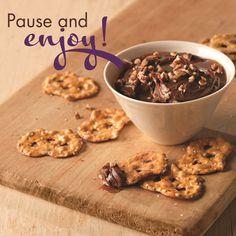 Savor the sweet things in life – Philadelphia Milk Chocolate Cream Cheese Turtle Dessert Dip.