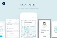 다음 @Behance 프로젝트 확인: \u201cMY RIDE - Taxi App UI Kit\u201d https://www.behance.net/gallery/47219747/MY-RIDE-Taxi-App-UI-Kit