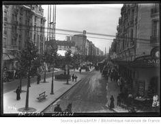 Boulevard Raspail [vue de la rue en pleine animation] : [photographie de presse] / 1913