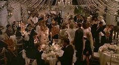 inside the wedding tent father of the bride movie
