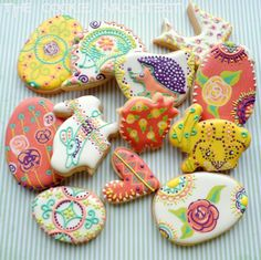 Easter Eclectic by RebeccArchitect   The Cookie Architect   Cookie Connection