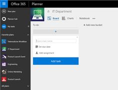 office planner software. 15 Things To Know About Microsoft Office 365 Planner - FluentPro Software Office Planner Software