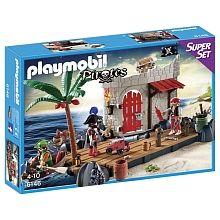 Playmobil - SuperSet Îlot des pirates - 6146