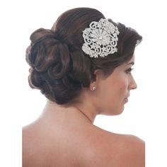 Carmela Bridal Comb - in Swarovski Crystal - Bridal Jewellery - Crystal Bridal Accessories