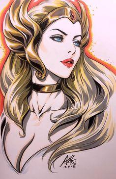 She-Ra: Princess of Power - Stanley Lau Cartoon Kunst, Cartoon Art, Fantasy Kunst, Fantasy Art, Comic Books Art, Comic Art, Stanley Lau, She Ra Princess Of Power, Thundercats