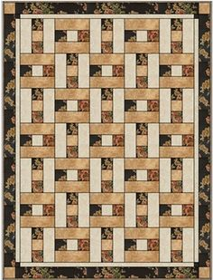 Hopscotch Downloadable 3 Yard Quilt Pattern