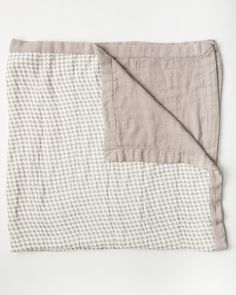 Bamboo Quilt - Houndstooth Grey