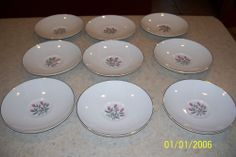 Wedgwood Saucers Pink Hope Numbered