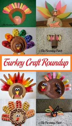 November has arrived, and the countdown to Thanksgiving has begun. Celebrate the holiday with a roundup of turkey crafts for Thanksgiving.