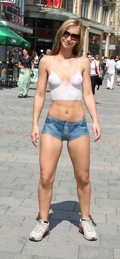 body paint in public