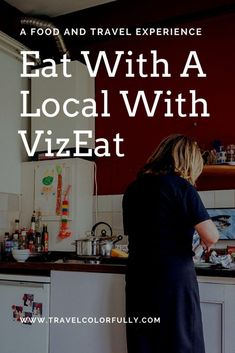 Experience a taste of local cuisine and culture with VizEat on your next trip!