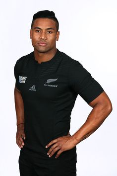 Julian Savea Photos: New Zealand All Black Rugby World Cup Headshots Session