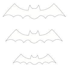 Resultado de imagem para modelo de morcegos