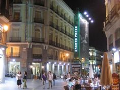 Hotel  Europa, Madrid. Booked.