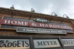 Meyer Hardware Store in Petosky Michigan