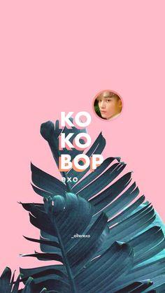 Exo Kokobop, Exo Chen, Exo Kai, Park Chanyeol, Cool Wallpapers For Phones, Phone Wallpapers, Kpop Backgrounds, Ko Ko Bop, Exo Lockscreen