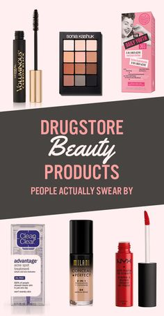 23 Drugstore Beauty Products That People Actually Swear By