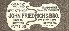Antique Graphics Wednesday – 1912 Violins and Victrola Advertisements