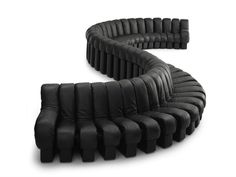 Sectional sofa DS-600 by de Sede | design Ueli Berger, Klaus Vogt, Eleonore Peduzzi-Riva, Heinz Ulrich