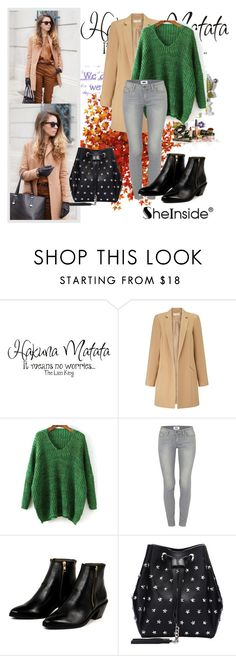"""""""Shein (2)  10"""" by aida-1999 ❤ liked on Polyvore featuring Disney, Miss Selfridge, Paige Denim, AZI, women's clothing, women, female, woman, misses and juniors"""