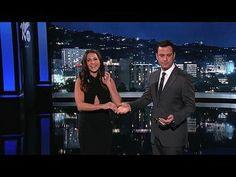 Jimmy Kimmel Live!: George Stephanopoulos, Andi Dorfman, Charles Bradley: The Bachelorette Andi Gets Sworn in by Jimmy Kimmel -- Jimmy swears in Bachelorette Andi Dorfman and makes her aware of the duties her new role entails. -- http://www.tvweb.com/shows/jimmy-kimmel-live/season-12/george-stephanopoulos-andi-dorfman-charles-bradley--the-bachelorette-andi-gets-sworn-in-by-jimmy-kimmel