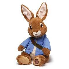 "Gund Peter Rabbit 16"" Nickelodeon Tv Series Plush # 4046170 NWT #GUND"