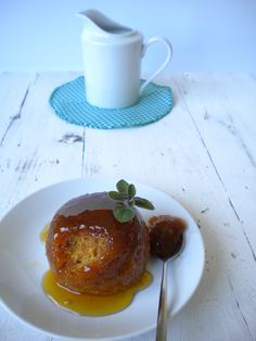 Pudding al vapor con sirope de jengibre http://lacocinamagicademanu.blogspot.com.es/2015/12/pudding-al-vapor-con-sirope-de-jengibre.html