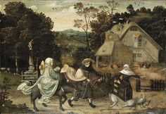 File:Jan Wellens de Cock (circle) - The Flight into Egypt - Wikimedia Commons Concordia University, Renaissance Art, Egypt, Punk, Gallery, Artwork, Projects, Painting, Wikimedia Commons