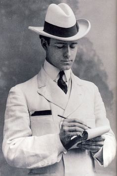 Sidney Barraclough. 1910s? Not sure who he is...just think he has a handsome face