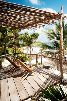 Tulum's Papaya Playa Project is one of the buzzy beachside town's newest hotels. #Jetsetter