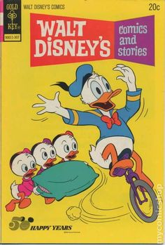 Disney comic book