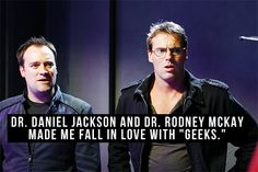 """Always liked geeks but when they look like that you cant gelp but love them"" What the pinner before me said. =)"