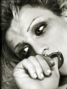 Courtney Love by Herb Ritts