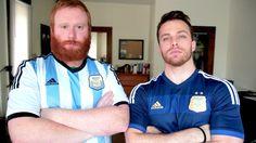 Yanquis Cantando Canciones del Fútbol Argentino
