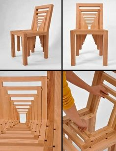 Oh my... A bit more forced perspective than I like in my furniture, but interesting to look at nonetheless...