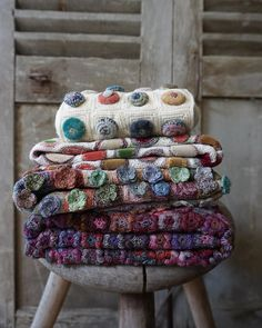 Our beautiful new collection of Sophie Digard scarves and accessories are now available online and in store! We are open tomorrow (Geelong cup day) as normal from - see you then ☺️ Cute Lamb, Blanket Yarn, Crochet Blankets, Shabby, Yarn Stash, Yarn Bombing, Textiles, Knitted Gloves, Textile Artists