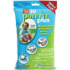 Kalencom - Potette Plus 2-in-1 Portable Potty & Trainer Liner Refills