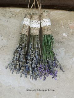 lavender craft for kids Lavender Wands, Lavender Crafts, Lavender Recipes, Lavender Sachets, Lavender Blue, Lavender Fields, Lavender Flowers, Dried Flowers, Hobbies And Crafts