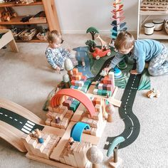 Small World Play, Log Cabins, Grimm, Wooden Toys, Montessori, Ivy, Basement, Toddler Bed, How To Plan