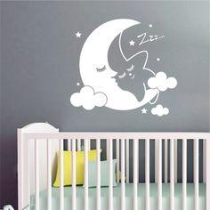 Αυτοκόλλητο τοίχου Αστεράκι που κοιμάται Home Decor, Decoration Home, Room Decor, Home Interior Design, Home Decoration, Interior Design