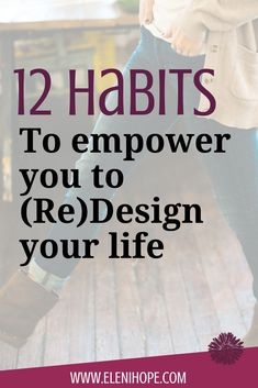 Did you know that by adopting certain habits, you can redesign your life? Good Habits, Healthy Habits, Healthy Tips, Feeling Stuck, How Are You Feeling, Confidence Tips, Confidence Building, Life Coaching Tools, Life Challenges