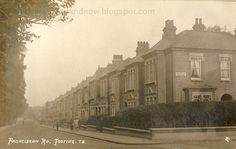 Franciscan Road, Tooting, 1908.