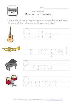 music handwriting worksheet