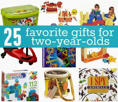 Toddler Approved!: Favorite Gifts for 2 Year Olds (good gender-balanced list)