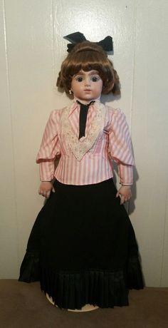 "French Bru Jne Bisque 30""French Bebe Vintage  Fashion Doll Joanie 14"