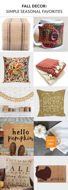Fall Decor: Simple S