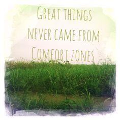 Great things ...