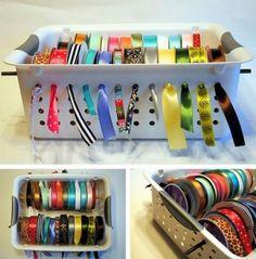 Simple Craft Supply Storage Ideas