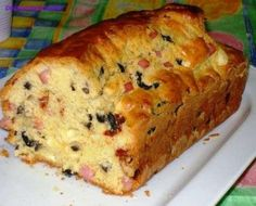 Ricetta del plum cake salato Savoury Baking, Savoury Cake, Cooking Cake, Cooking Recipes, Sweet Loaf Recipe, Food Network Recipes, Food Processor Recipes, Cypriot Food, Pastry Cook